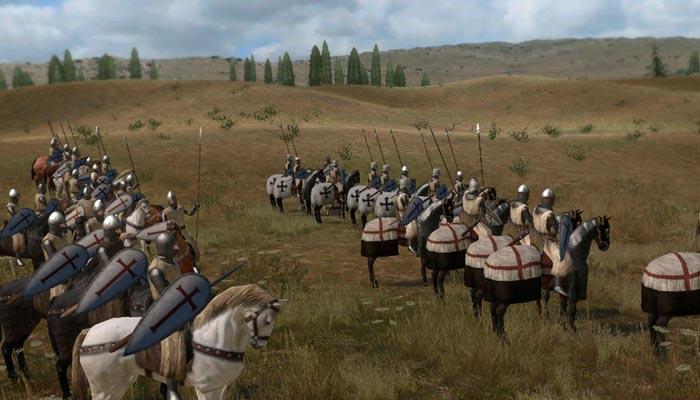 Mount & Blade Warband игра про рыцарей