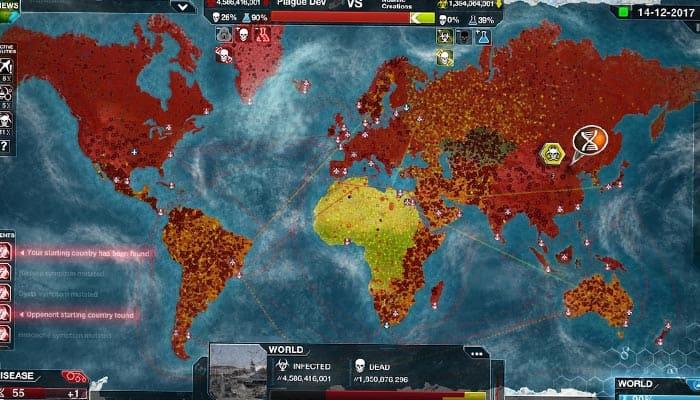 Plague Inc Evolved симулятор вируса