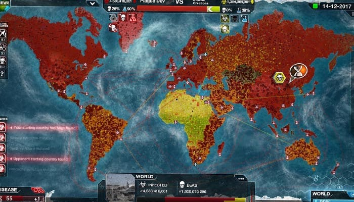 Plague Inc Evolved про вирусы и эпидемии