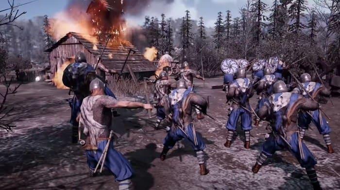 Ancestors Legacy игры про викингов на пк