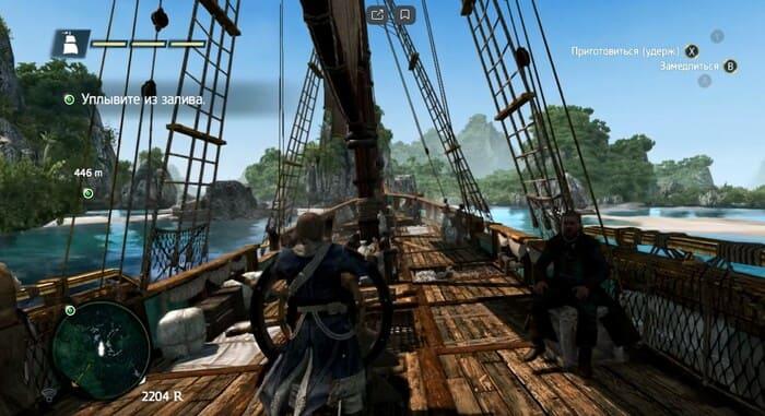 Assassin's Creed IV: Black Flag про пиратов и корабли на пк