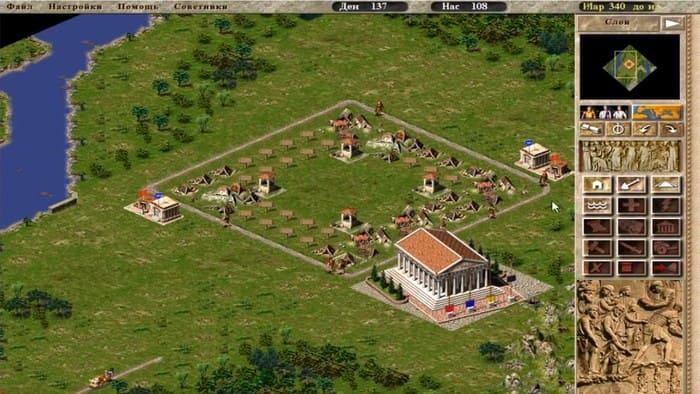 Caesar III экономические симуляторы на пк