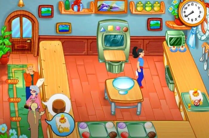 Cake Mania игры про поваров и кухню на пк