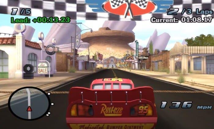 Cars: The Video Game игры по мультикам