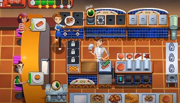 Cooking DASH игры про поваров и еду