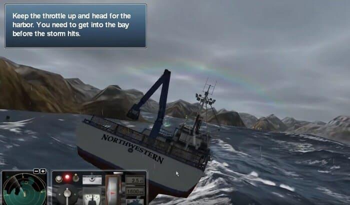 Смертельный улов: Охота на крабов / Deadliest Catch: Alaskan Storm корабли на пк