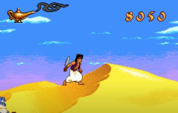 Disney's Aladdin игры по мультикам на пк