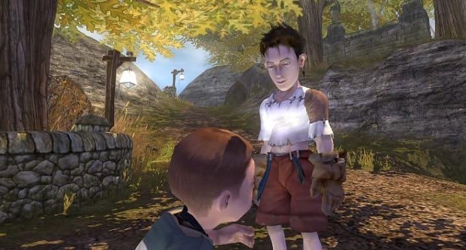 fable - уникальная игра с уникальными возможностями в открытом мире, для очень слабых пк