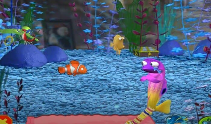 Finding Nemo игры по мультам на пк