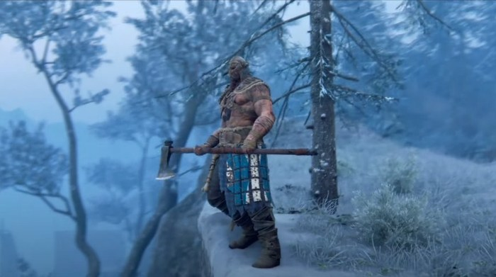 For Honor про викингов игры