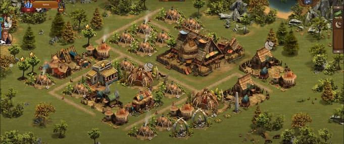 Forge of Empires браузерные игры