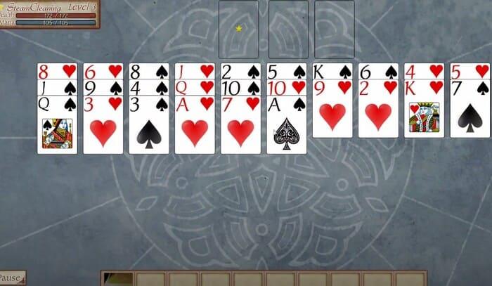 FreeCell Quest карточная игра на пк