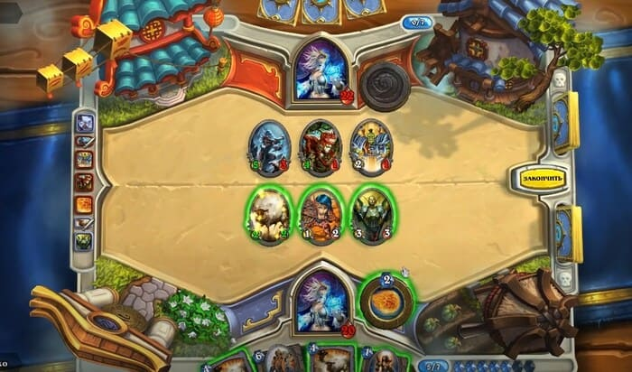 Hearthstone: Heroes of Warcraft карточные игры