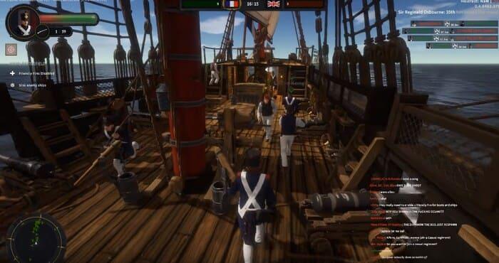 Holdfast:NationsAtWar игры про корабли