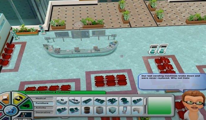 Hospital Tycoon игры про больницы на пк