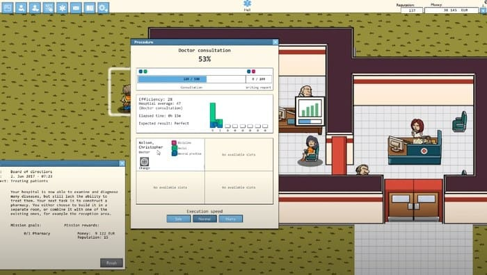 Hospitalize игры про больницы на пк