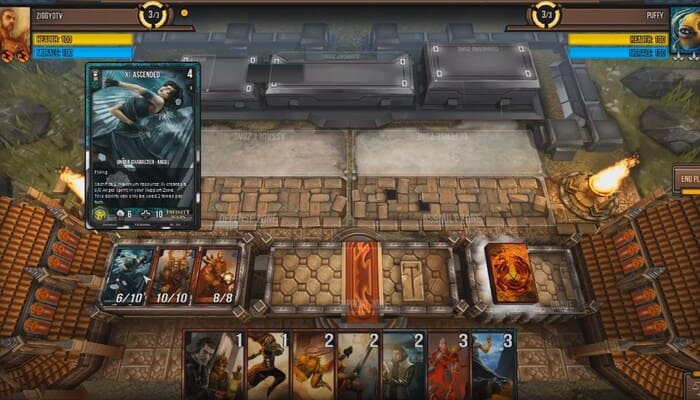 Infinity Wars карточные игры на пк