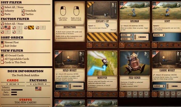 Ironclad Tactics карточные игры на пк