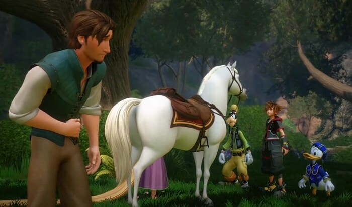 Kingdom Hearts по мультфильму игра