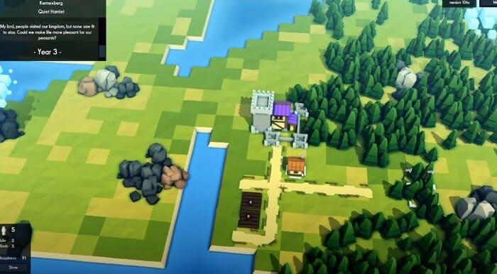 Kingdoms and Castles игры про развитие и управление городом