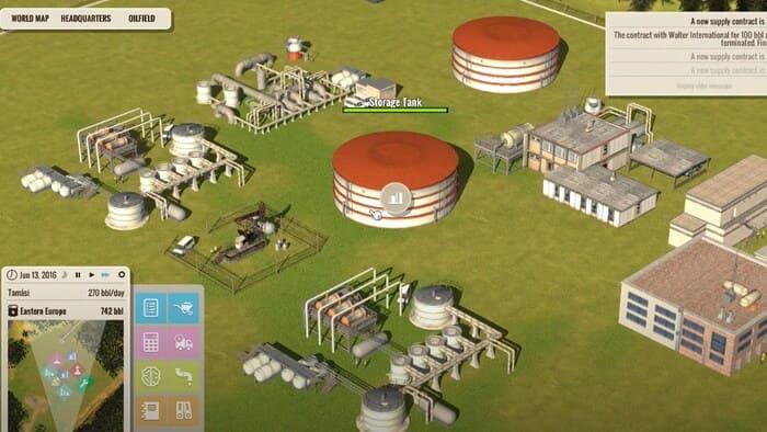 Oil Enterprise игры про бизнес на пк