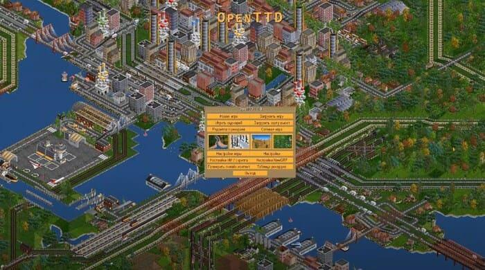OpenTTD tycoon игры на пк