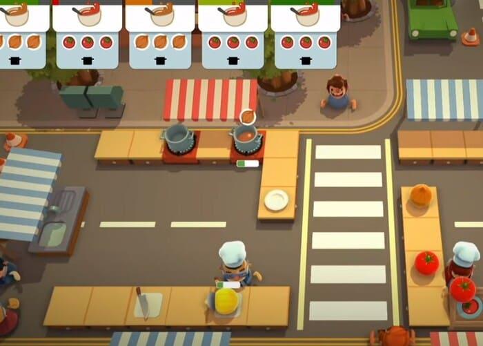 Overcooked игры про поваров еду и кухню на пк