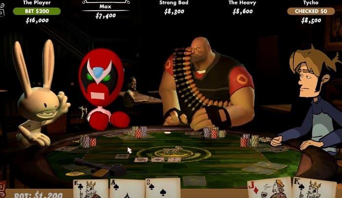 Poker Night at the Inventory карточные игры на пк
