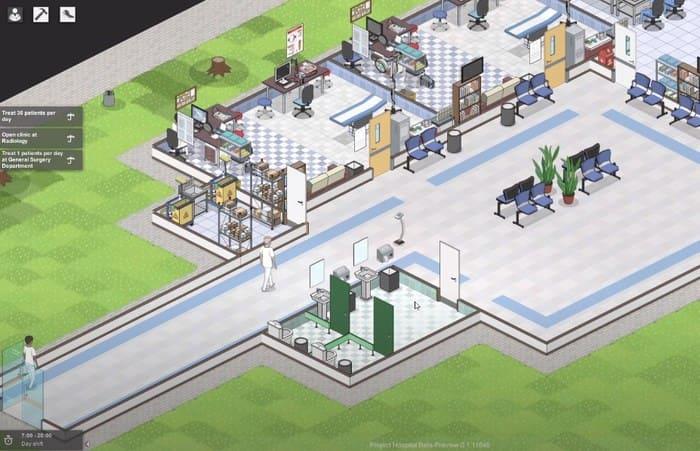 Project Hospital игры про больницы