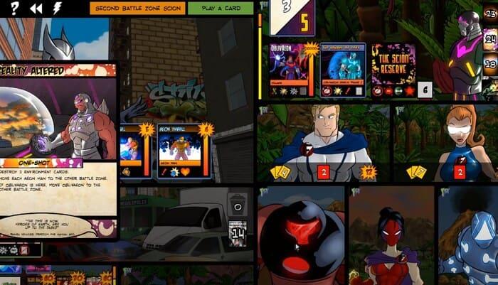 Sentinels of the Multiverse карточные игры