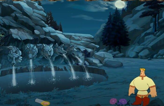 Серия «Три богатыря» игры по мультфильмам