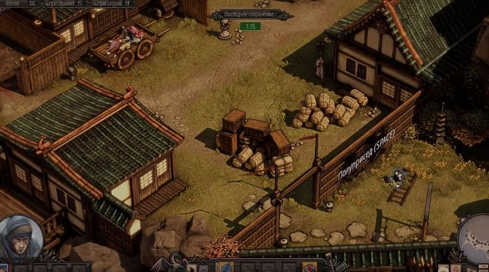 Shadow tactics: blades of the shogun игры про ниндзя