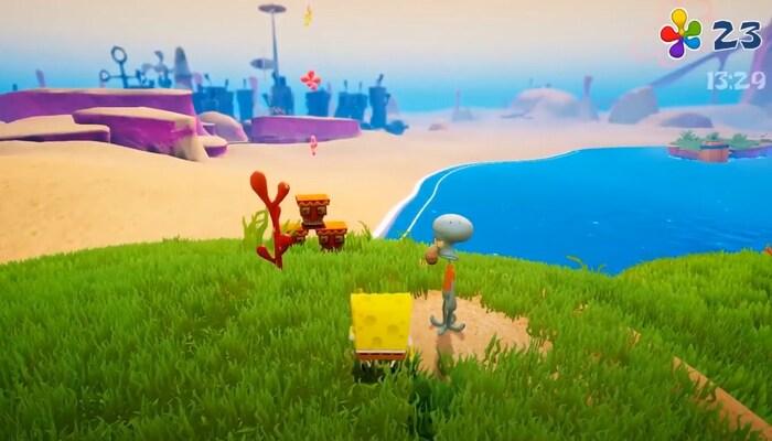 SpongeBob SquarePants: Battle for Bikini Bottom игры по мультикам