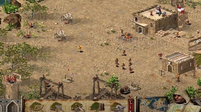 Stronghold Crusader игры про строительство городов