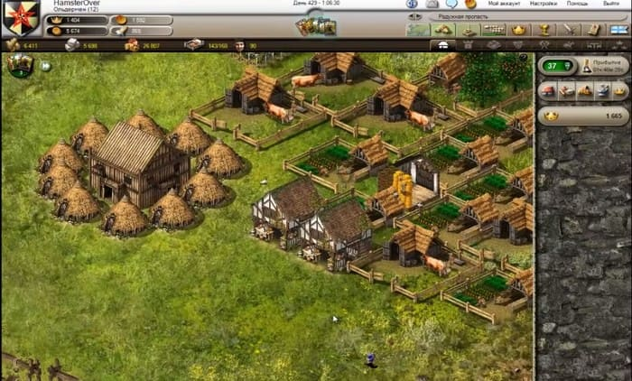 Stronghold Kingdoms экономические онлайн стратегии на пк