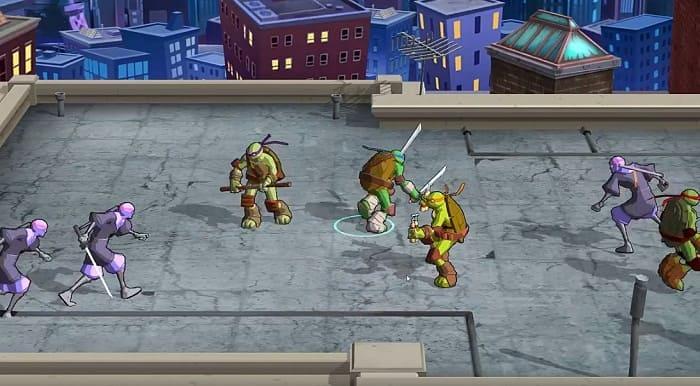 Teenage Mutant Ninja Turtles: Portal Power игры про черепашек ниндзя