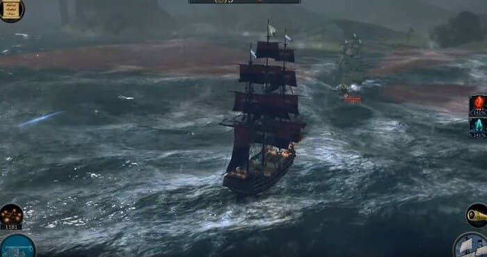 Tempest игры про корабли