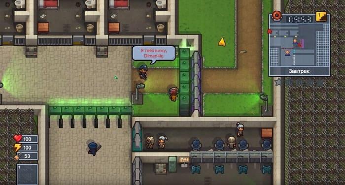 The Escapists игра про тюрьму