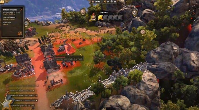 The settlers 7: Paths of a Kingdom развитие города на пк