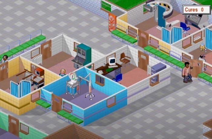 Theme Hospital игры про больницы на пк