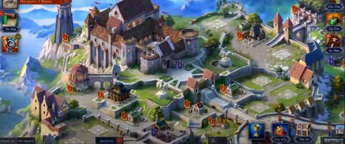 Throne: Kingdom at War браузерные игры на пк
