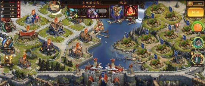 Vikings: War of Clans браузерные игры