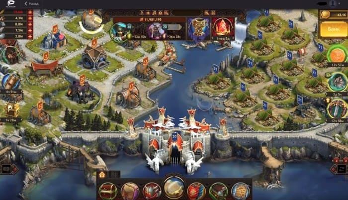 Vikings: War Of Clans МММО экономическая стратегия на пк