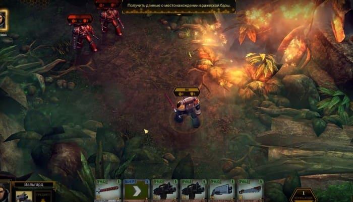 Warhammer 40000: Space Wolf карточные игры на пк