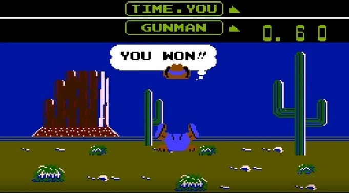 wild gunman — игра с приставок nes и аркадных автоматов