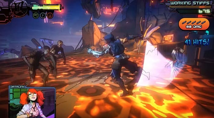 Yaiba Ninja Gaiden Z игры про ниндзя на пк
