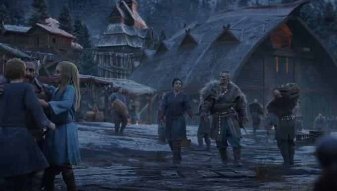 Assassin's Creed Valhalla будет спутник в роли ворона