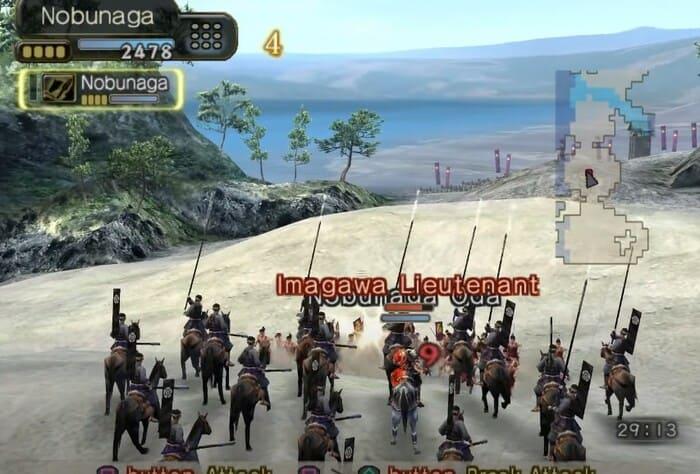 Kessen III игры про самураев