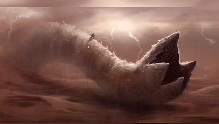 Песчаный червь Dune