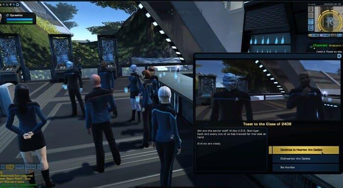 Star Trek Online онлайн игра про космос и космические корабли на пк